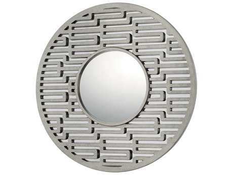 Capital Lighting 36'' Wide Round Decorative Wall Mirror C2724701MM