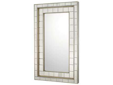 Capital Lighting Antique Silver 30''W x 50''H Rectangular Wall Mirror C2716901MM