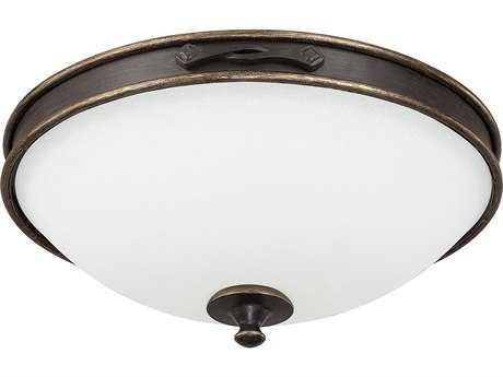 Capital Lighting Wyatt Surrey Three-Light 16.5'' Wide Flush Mount Light C22067SY