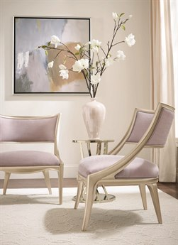 Caracole Compositions Adela Lavender / Blush Taupe Accent Chair CASC010016131A