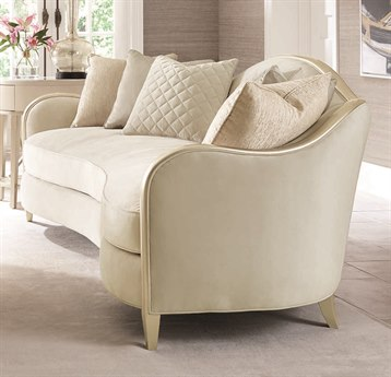 Caracole Compositions Adela Oyster / Blush Taupe Sofa CASC010016013A