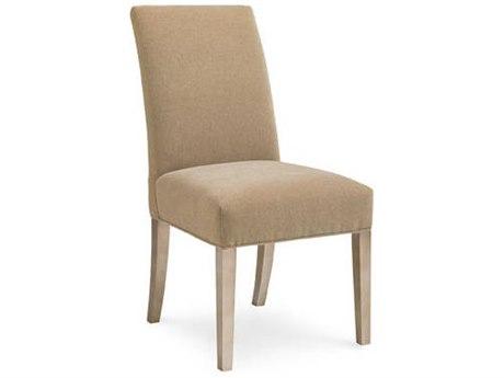 Caracole Modern Artisans Beige Dining Side Chair CAMATSSIDCHA003