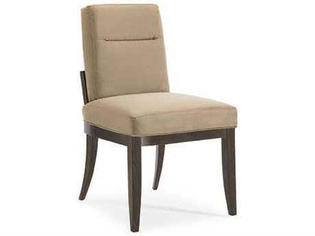 Caracole Modern Artisans Chamios with Dark Fumed Oak Dining Side Chair