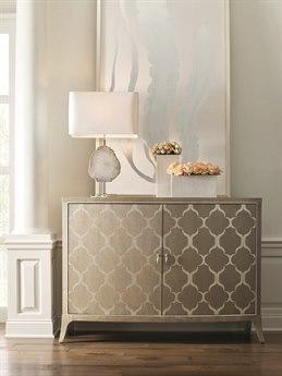 Caracole Compositions Avondale Ash / Soft Silver 54''W x 18''D Rectangular Hall Chest Buffet CASC021417461