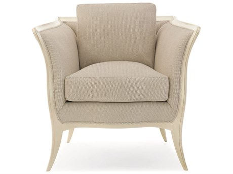 Caracole Compositions Avondale Brushed Tweed / Soft Silver Accent Chair CASC020417131A