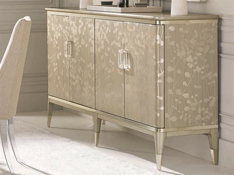 Caracole Classic Champagne Shimmer with Taupe / Whisper of Gold 77''W x 19''D Rectangular Sideboard CACCLA016212