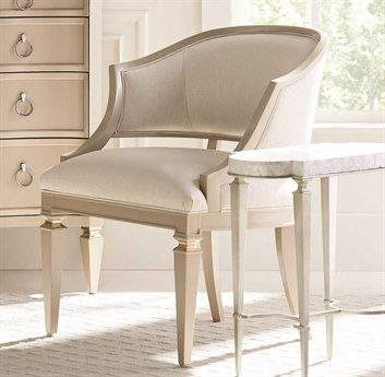 Caracole Classic Sit Anywhere Silver Metallic with Radiant Pearl / Sparking Agent Accent Chair CACUPH017134A