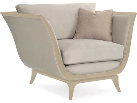 Caracole Classic Dove Grey Accent Chair