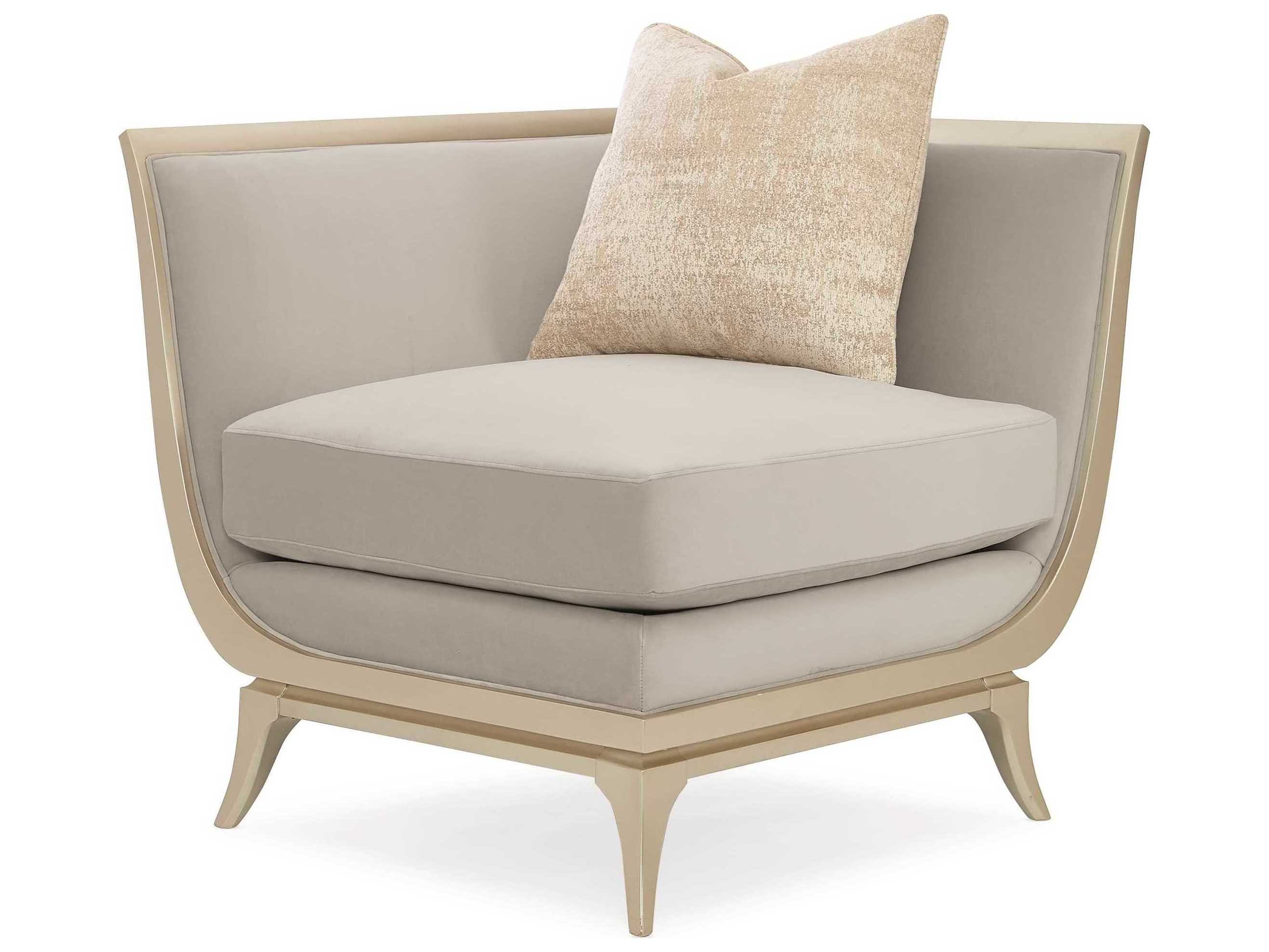 Awe Inspiring Caracole Classic Dove Grey Accent Chair Pabps2019 Chair Design Images Pabps2019Com