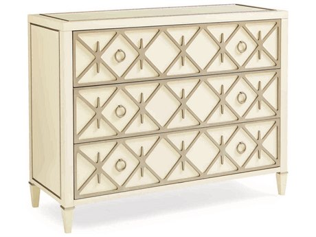 Caracole Classic Pure Ivory / Soft Radiance Accent Chest CACCLA016543