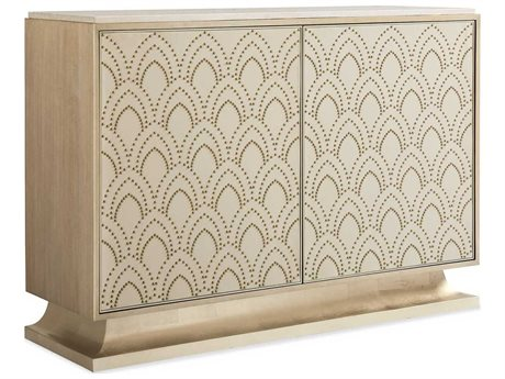 Caracole Classic Moonlight Marble / Winter Wheat / Golden Blonde Leaf 56''W x 18''D Rectangular Buffet CACCLA018462