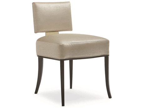 Caracole Classic Gold Sateen Dining Side Chair CACCLA016285
