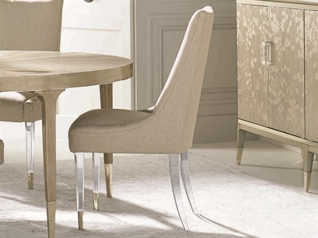 Caracole Classic Taupe Dining Side Chair