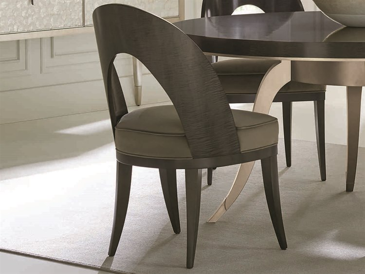 Caracole Classic Midnight Maple Dining Side Chair
