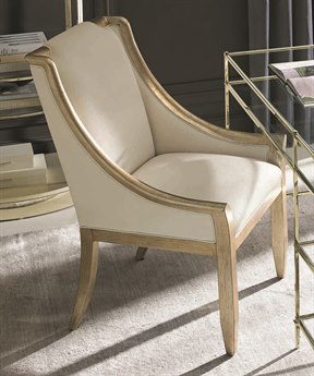 Caracole Classic Aged Silver Dining Arm Chair