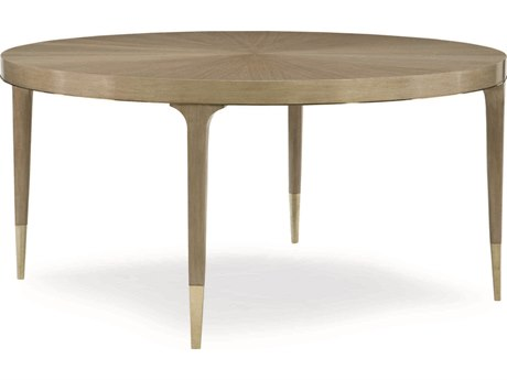 Caracole Classic Champagne Shimmer / Whisper of Gold 60'' Wide Round Dining Table CACCLA016206