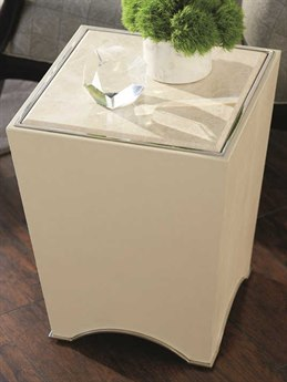 Caracole Classic 16'' Wide Square End Table