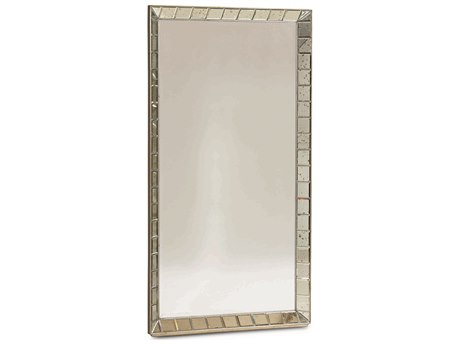 Caracole Classic Antiqued Mirror 43''W x 80''H Rectangular Floor Mirror CACCONMIRROR006