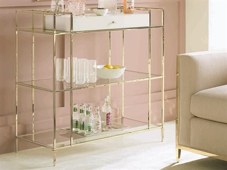 Caracole Classic Whisper of Gold Petite Home Bar CACCLA417512