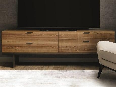 Caracole Classic Natural Longwood 80''W x 18''D Rectangular Media Cabinet CACCLA015531