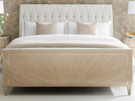 Caracole Classic Winter Wheat / Warm Reflections California King Sleigh Bed