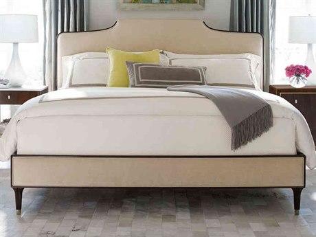 Caracole Classic Cream / Espresso Bean Queen Size Platform Bed CACTRAQUEBED023