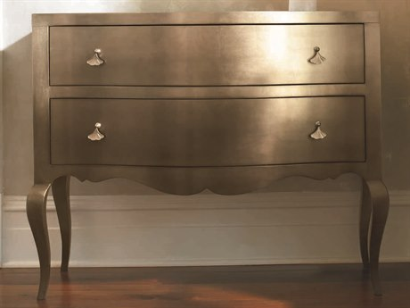 Caracole Classic Ombre Topaz Leaf 44''W x 18''D Rectangular Nightstand CACTRACLOSTO022