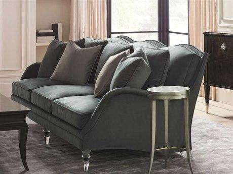 Caracole Classic Fancy Footwork Smoky Grey / Acrylic Sofa