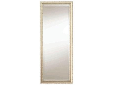 Caracole Classic Soft Silver Leaf 16''W x 40''H Rectangular Wall Mirror CACCLA417042
