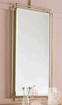Caracole Classic Whisper of Gold 27''W x 46''H Rectangular Wall Mirror CACCLA417044