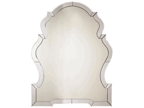 Caracole Classic French Blue Dawn 35''W x 45''H Wall Mirror CACTRAMIRROR006