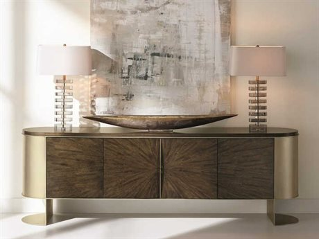 Caracole Classic Galway / Golden Blonde Leaf Console CACCLA418531