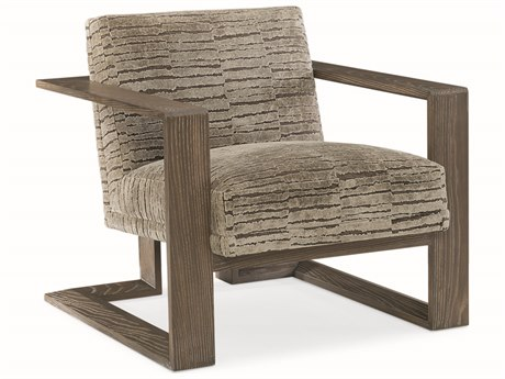 Caracole Modern Fusion Grey with Ashen Oak Accent Chair CAMM050017132B