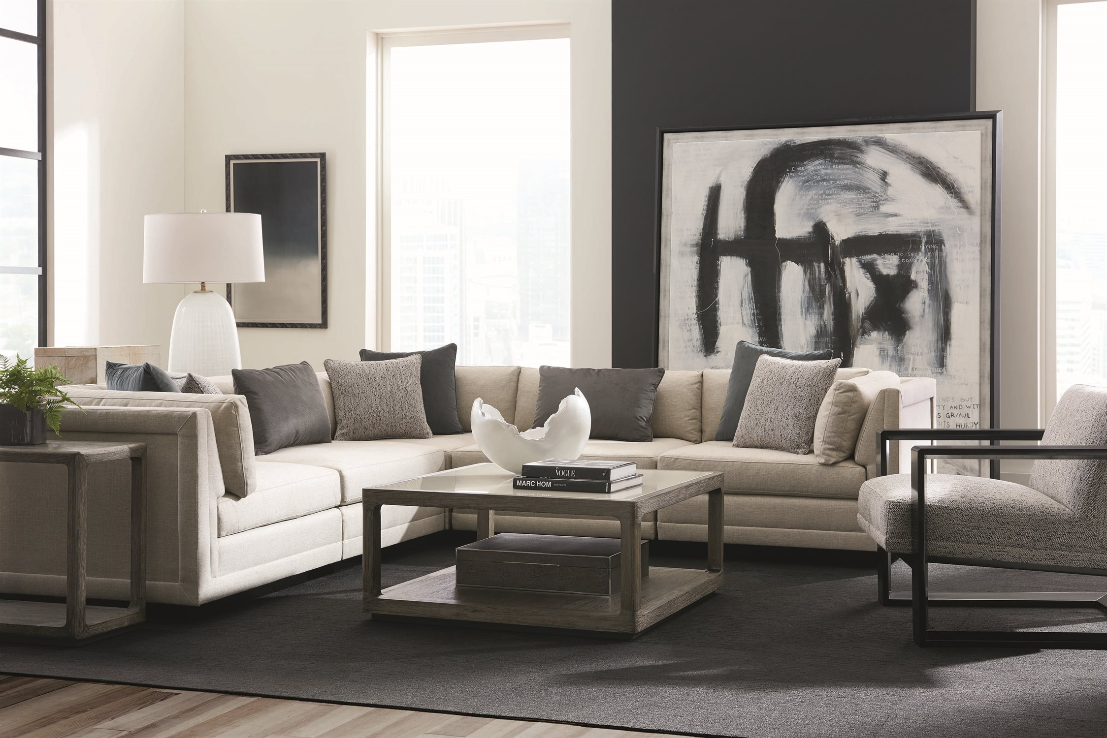 Caracole Modern Fusion Living Room Set Camm050017ac1aset