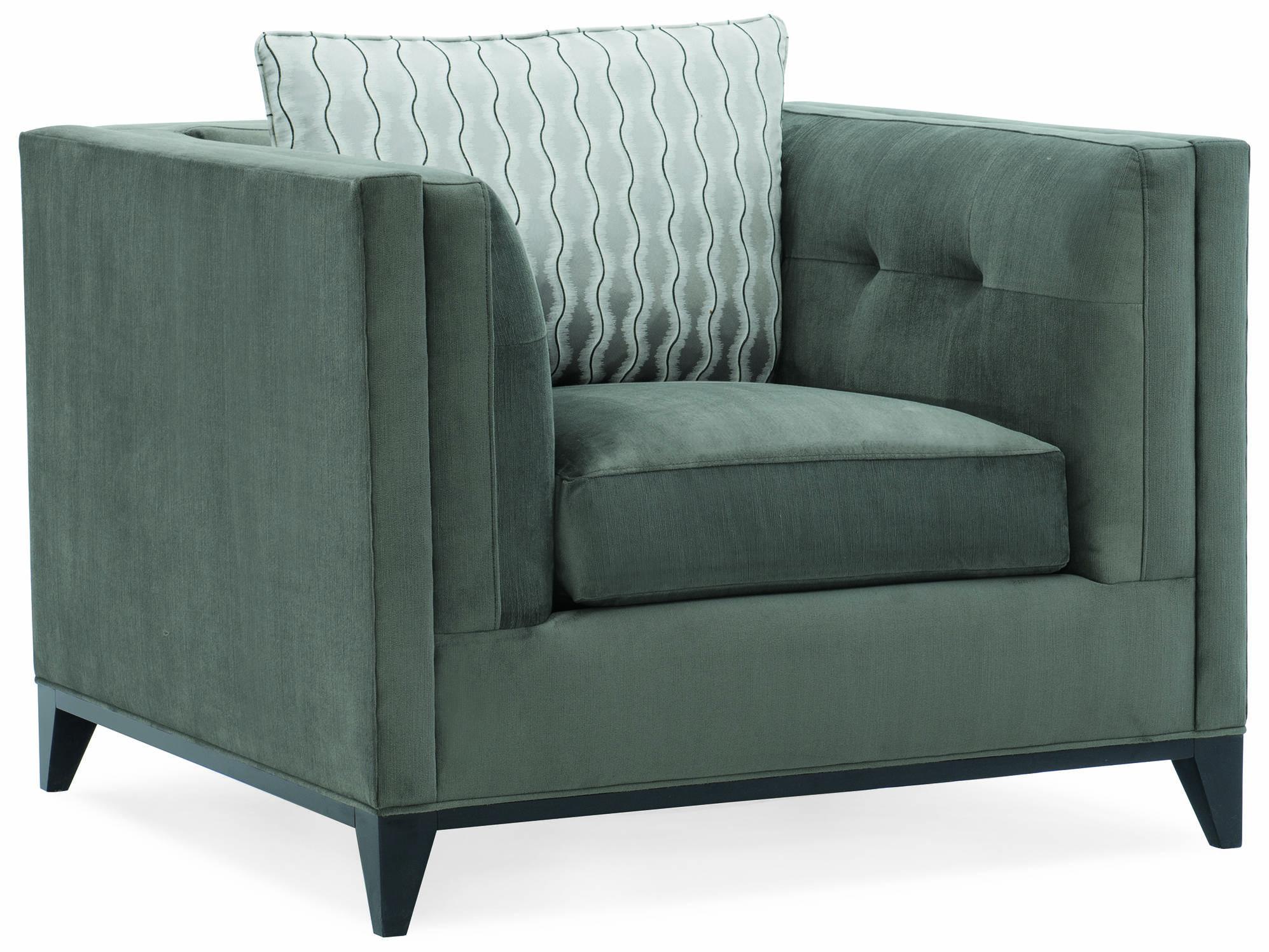 Phenomenal Caracole Modern Grace Flannel Grey Accent Chair Inzonedesignstudio Interior Chair Design Inzonedesignstudiocom