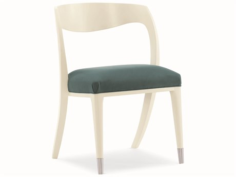 Caracole Modern Grace Green / Almost White Tranquil Dining Side Chair (Sold in 2) CAMM082418284