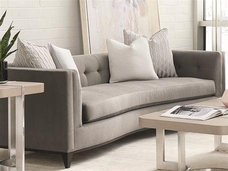 Caracole Modern Grace Flannel Grey Sofa CAMM080418011A