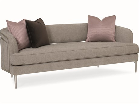 Caracole Modern Grace French Grey Tranquil Sofa