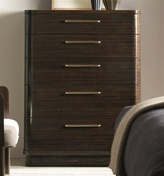 Caracole Modern Streamline Aged Bourbon 44''W x 19''D Rectangular Chest of Drawers CAMM023417051