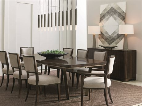 Caracole Modern Streamline Dining Room Set CAMM022417201SET