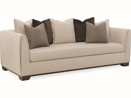 Caracole Modern Streamline Beige Sofa CAMM020417012A
