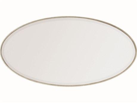 Caracole Modern Streamline Smoked Bronze 62''W x 32''H Oval Wall Mirror CAMM023417041