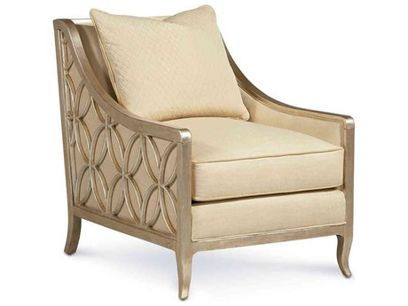 Caracole Classic Ivory / Pompeii Accent Chair CACUPHCHALOU02A