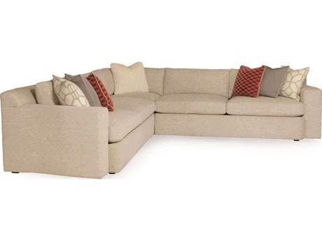 Caracole Neutral Track Arm Sectional Sofa CACUPHSOFSEC06A