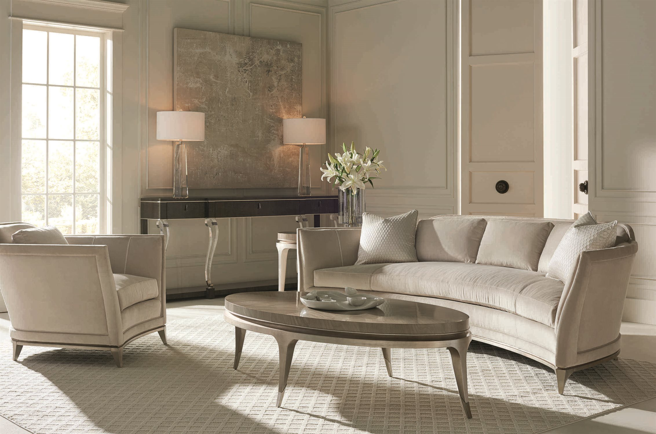 Caracole Upholstery Living Room Set