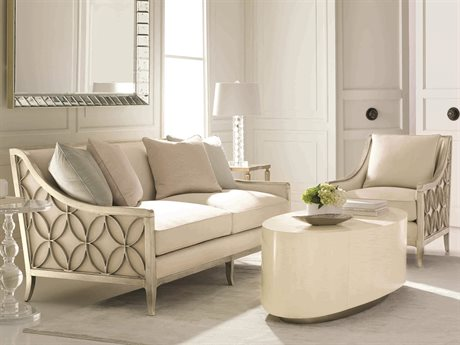 Caracole Classic Living Room Set CACUPHSOFWOO62BSET