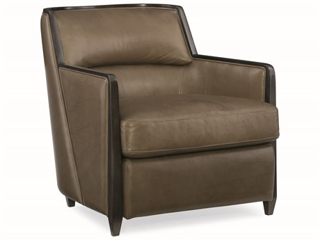 Caracole Modern Uptown Brown Accent Chair CAMM010016132L