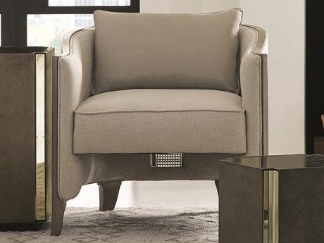 Caracole Modern Uptown Beige Accent Chair CAMM010016133A