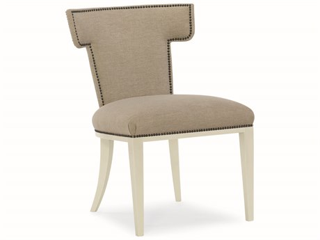 Caracole Modern Uptown Beige Dining Side Chair (Sold in 2) CAMM012016284
