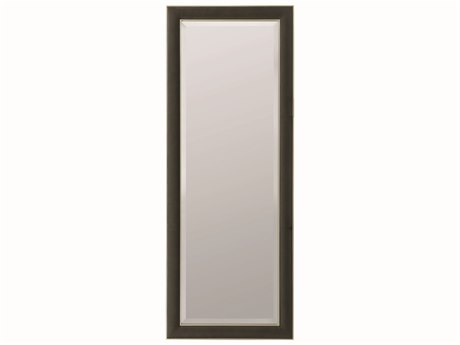 Caracole Modern Uptown Smoked Peppercorn with Jazzy Taupe 48''W x 78''H Rectangular Floor Mirror CAMM011016043